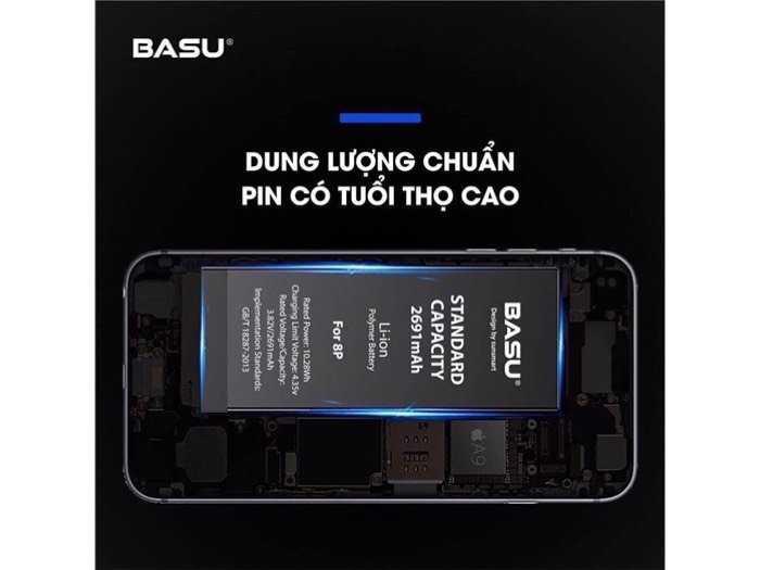 Pin iphone 6S , Pin iphone các loại Hàng chính hãng BASU3