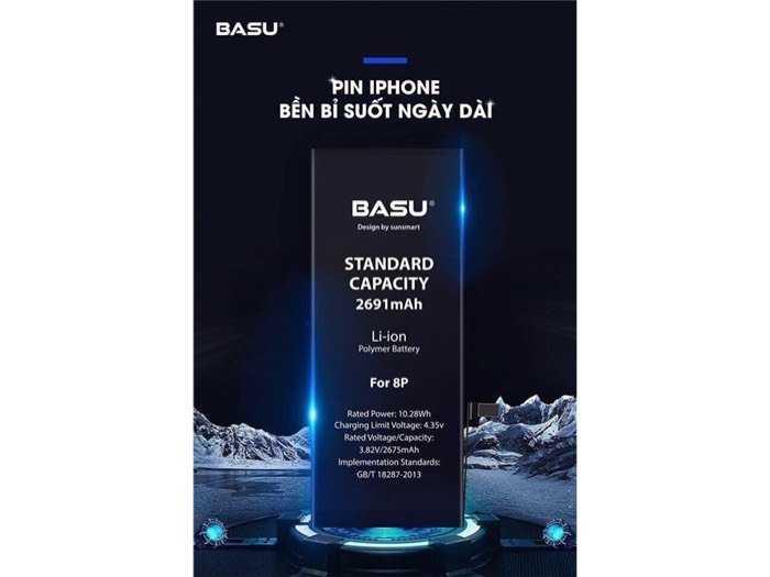 Pin iphone 6S , Pin iphone các loại Hàng chính hãng BASU4