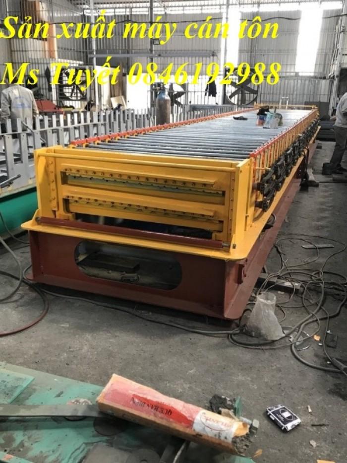 Xưởng sản xuất máy cán tôn 2 tầng 11 sóng tại Hà Nội2