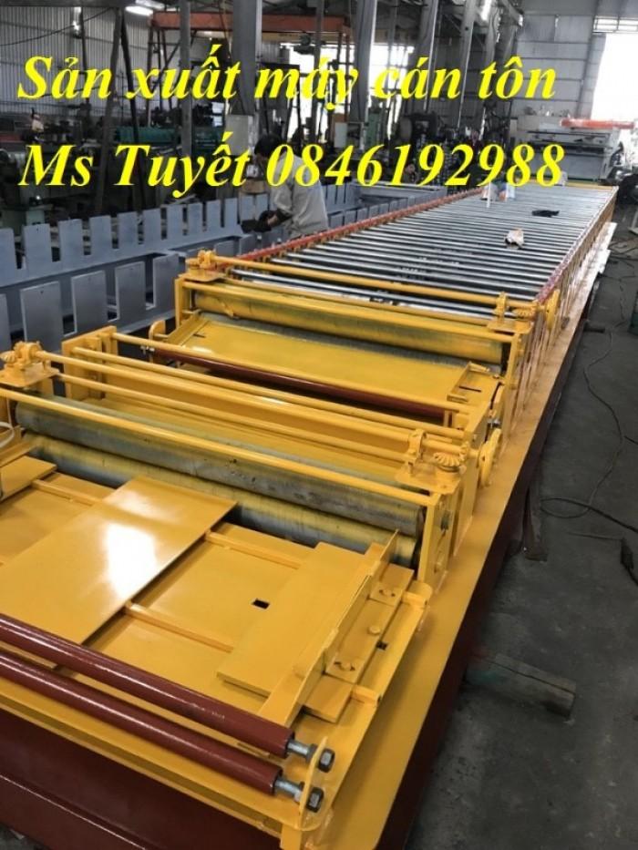 Xưởng sản xuất máy cán tôn 2 tầng 11 sóng tại Hà Nội3