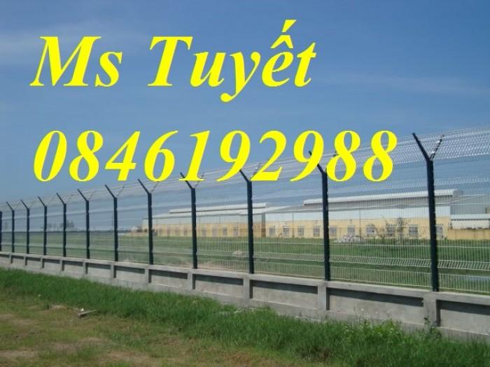 Xưởng sản xuất hàng rào mạ kẽm, hàng rào sơn tĩnh điện giá rẻ0