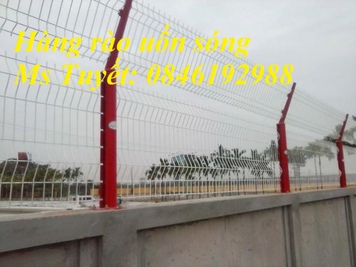 Xưởng sản xuất hàng rào mạ kẽm, hàng rào sơn tĩnh điện giá rẻ5