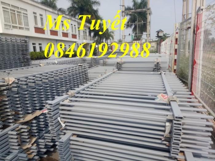 Xưởng sản xuất hàng rào mạ kẽm, hàng rào sơn tĩnh điện giá rẻ14