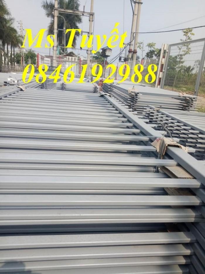 Xưởng sản xuất hàng rào mạ kẽm, hàng rào sơn tĩnh điện giá rẻ22