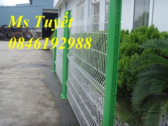 Xưởng sản xuất hàng rào mạ kẽm, hàng rào sơn tĩnh điện giá rẻ17