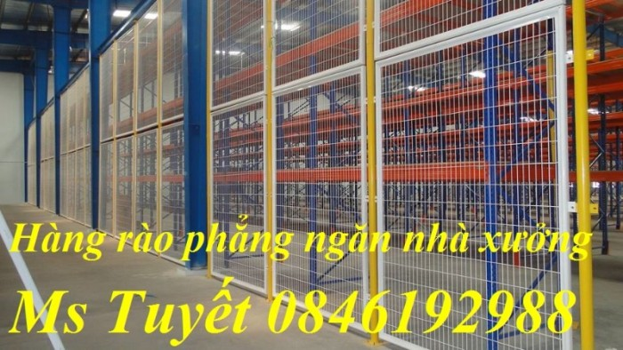 Xưởng sản xuất hàng rào mạ kẽm, hàng rào sơn tĩnh điện giá rẻ11