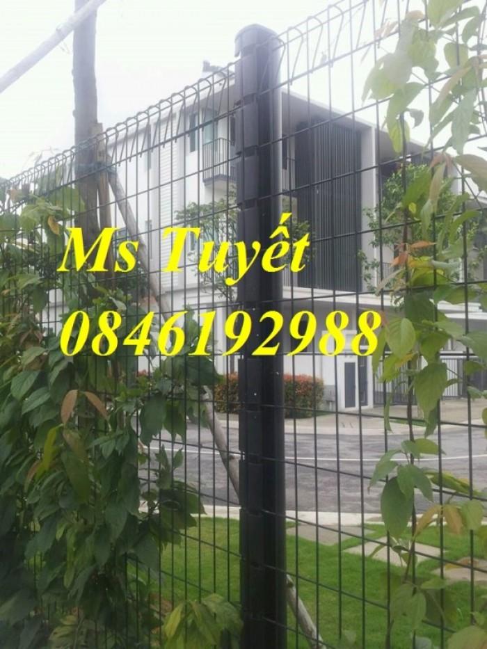 Xưởng sản xuất hàng rào mạ kẽm, hàng rào sơn tĩnh điện giá rẻ23