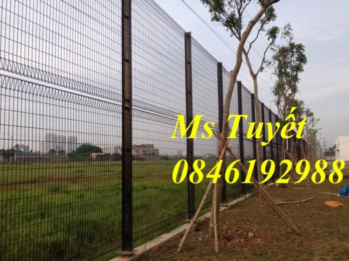 Xưởng sản xuất hàng rào mạ kẽm, hàng rào sơn tĩnh điện giá rẻ18