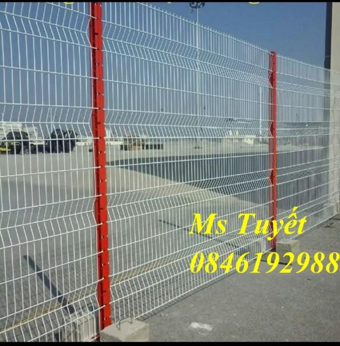 Xưởng sản xuất hàng rào mạ kẽm, hàng rào sơn tĩnh điện giá rẻ21