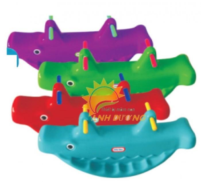 Cung cấp bập bênh trẻ em cho trường mầm non, công viên, khu vui chơi14