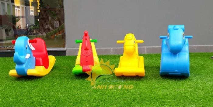 Cung cấp bập bênh trẻ em cho trường mầm non, công viên, khu vui chơi7