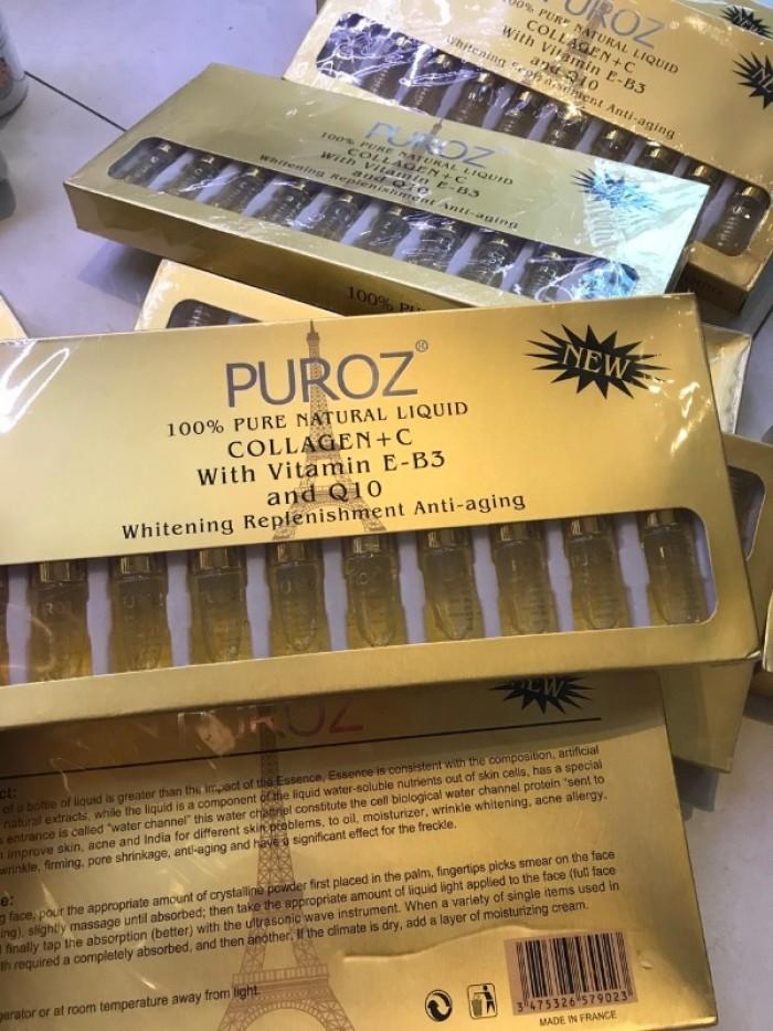 Serum Pháp Puroz Collagen + C0