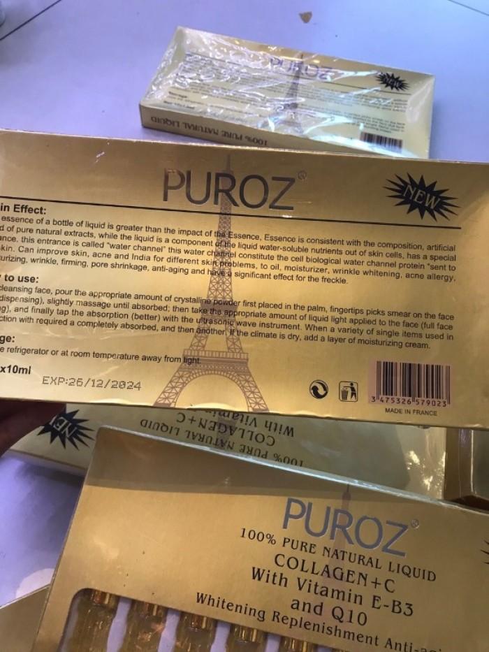 Serum Pháp Puroz Collagen + C2