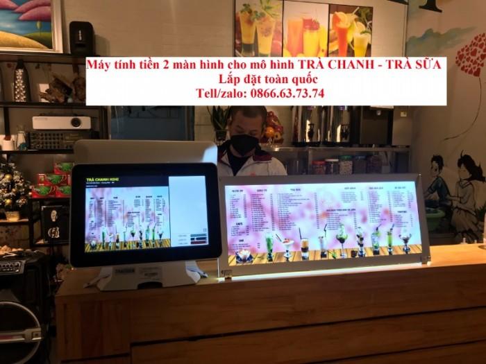 Combo máy tính tiền cảm ứng cho quán cà phê Vũng Tàu0