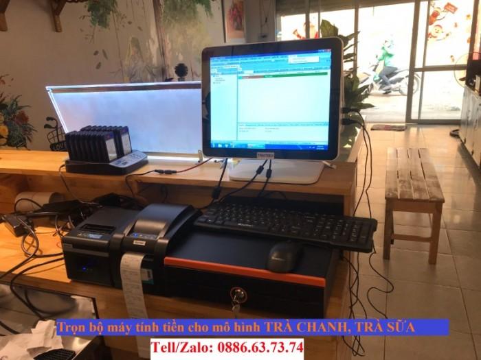Combo máy tính tiền cảm ứng cho quán cà phê Vũng Tàu1