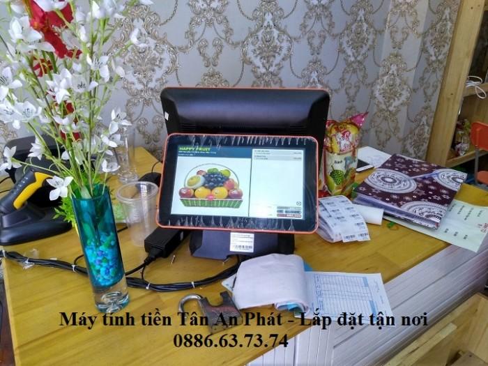 Lắp đặt tận nơi combo máy tính tiền tại Vũng Tàu cho quán Trà Chanh2
