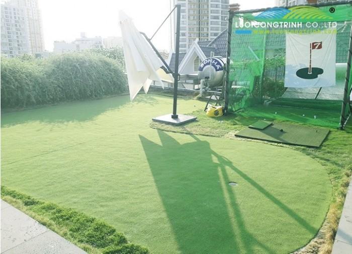 Thiết kế thi công sân tập Golf, Golf Mini, Putting green0