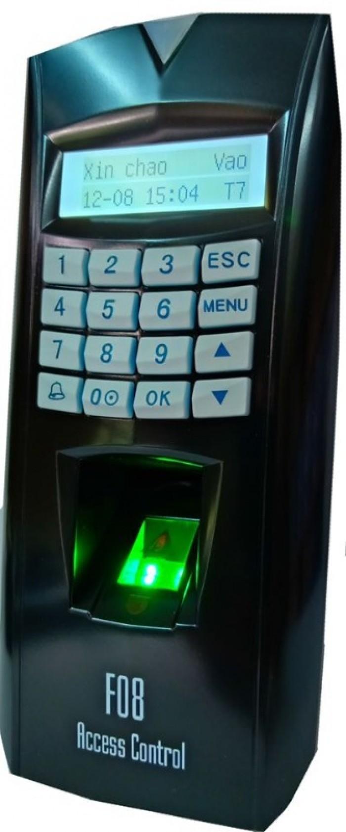 Máy chấm công kiểm soát cửa - Mita F08 bảo hành uy tín0