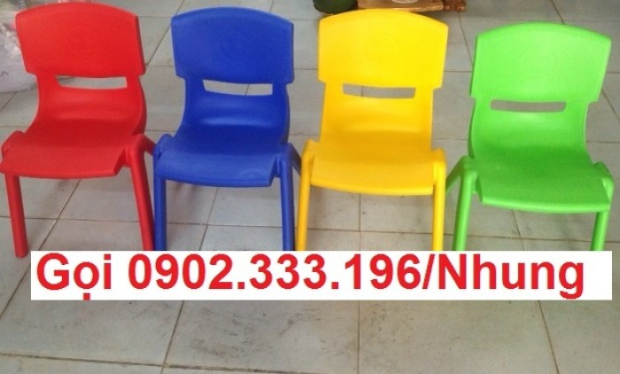 Bàn ghế mầm non, bàn ghế mầm non rẻ, ghế nhựa mầm non1