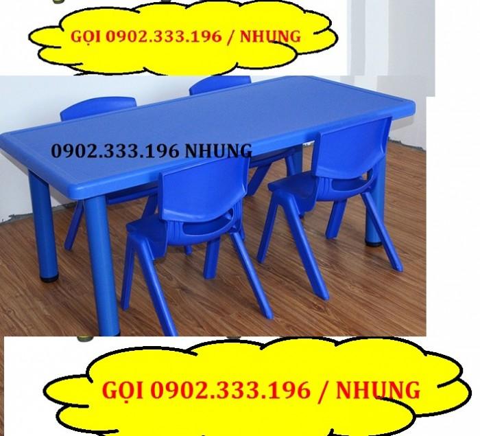 Bàn ghế mầm non, bàn ghế mầm non rẻ, ghế nhựa mầm non10