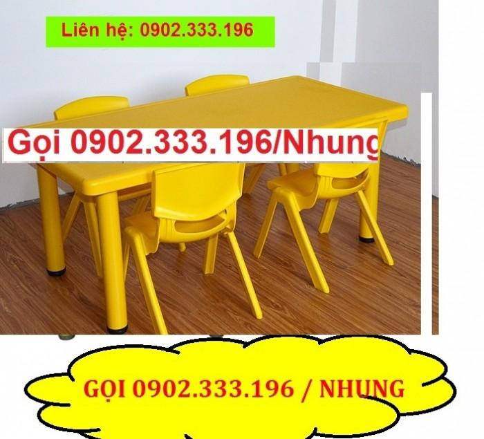 Bàn ghế mầm non, bàn ghế mầm non rẻ, ghế nhựa mầm non9