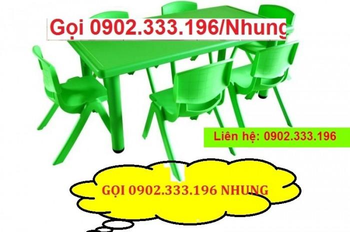 Bàn ghế mầm non, bàn ghế mầm non rẻ, ghế nhựa mầm non3