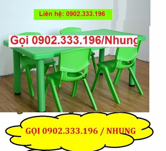 Bàn ghế mầm non, bàn ghế mầm non rẻ, ghế nhựa mầm non11
