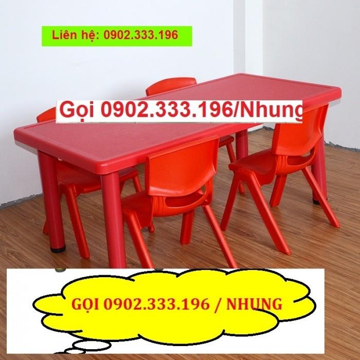 Bàn ghế mầm non, bàn ghế mầm non rẻ, ghế nhựa mầm non13