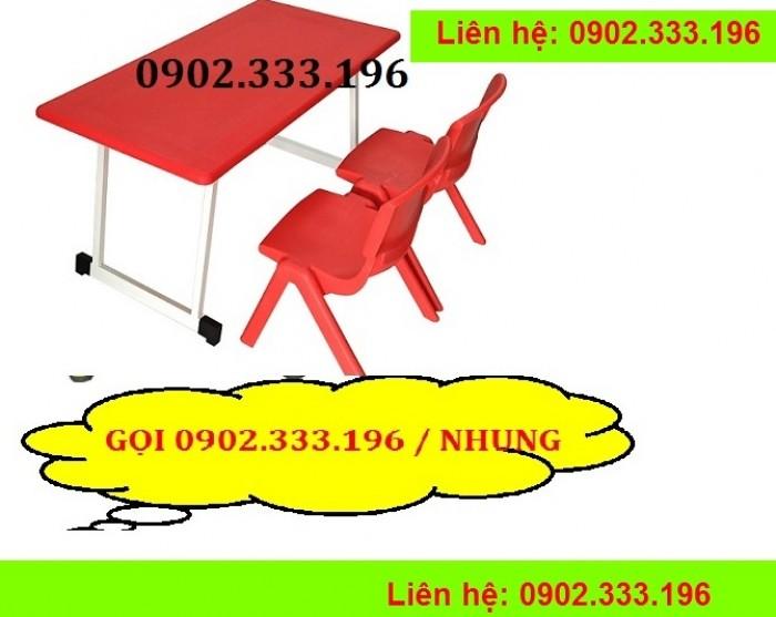 Bàn ghế mầm non, bàn ghế mầm non rẻ, ghế nhựa mầm non12
