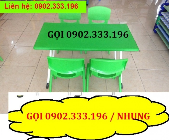 Bàn ghế mầm non, bàn ghế mầm non rẻ, ghế nhựa mầm non18