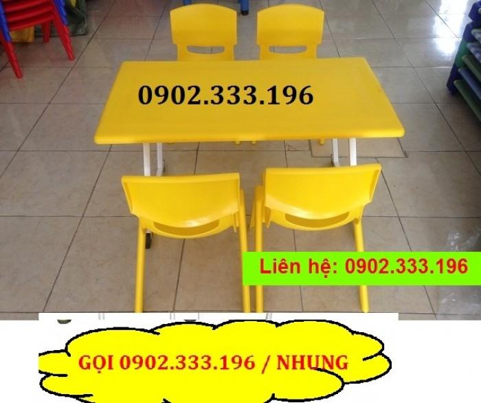 Bàn ghế mầm non, bàn ghế mầm non rẻ, ghế nhựa mầm non20