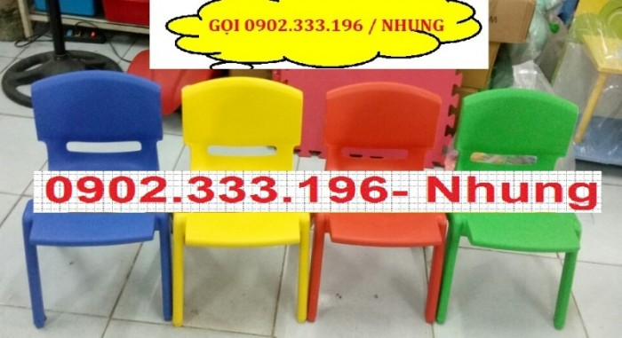 Bàn ghế mầm non, bàn ghế mầm non rẻ, ghế nhựa mầm non19