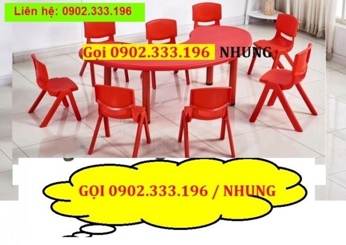 Bàn ghế mầm non, bàn ghế mầm non rẻ, ghế nhựa mầm non24
