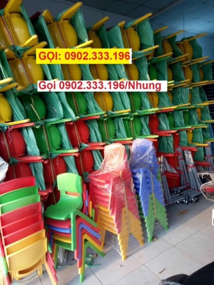 Bàn ghế mầm non, bàn ghế mầm non rẻ, ghế nhựa mầm non34