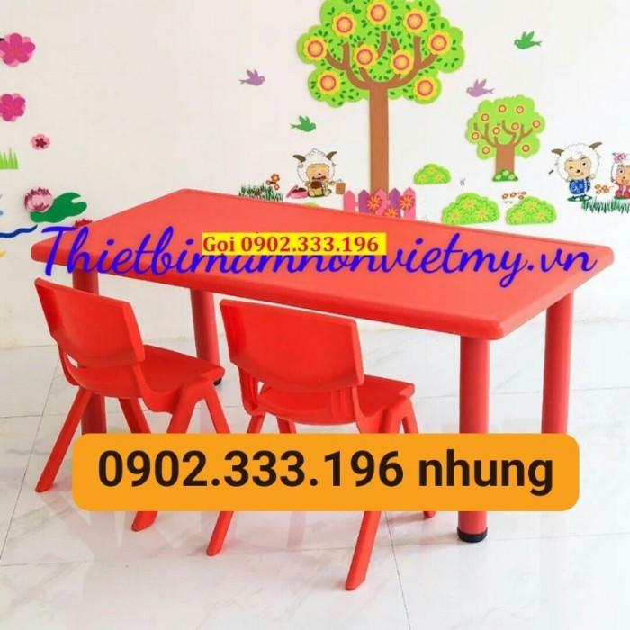 Bàn ghế mầm non, bàn ghế mầm non rẻ, ghế nhựa mầm non33
