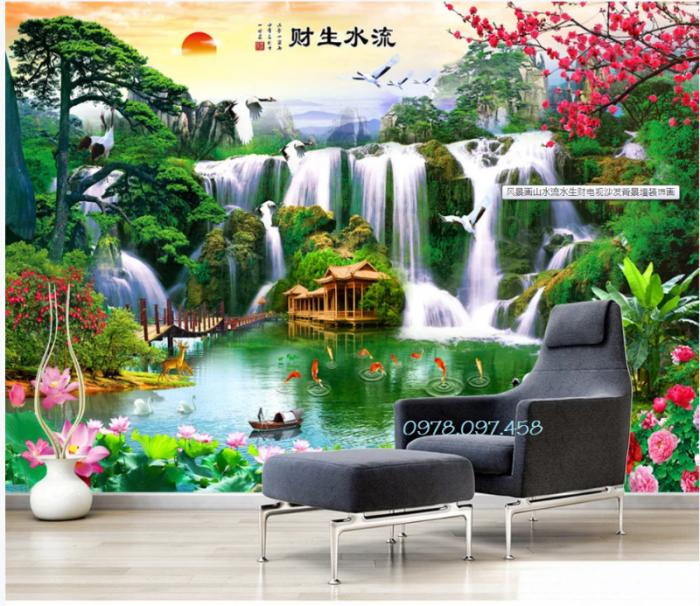 tranh đẹp trang trí phòng khách mẫu tuyệt đẹp8