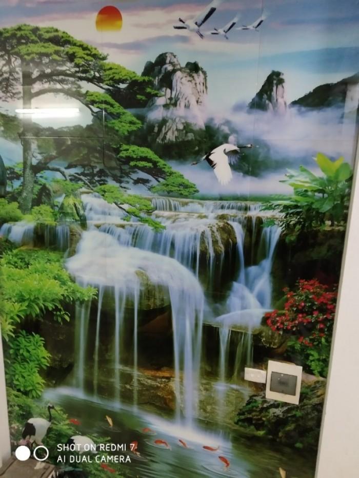 tranh phong cảnh thác nước đứng18