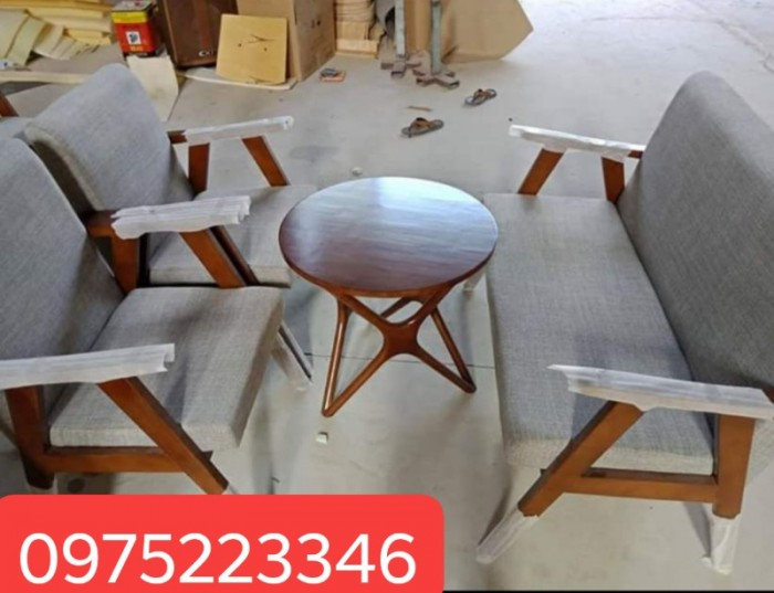 Sofa cafe - Bàn ghế sofa cho quán cafe đẹp giá rẻ Nội Thất Quang Đại
