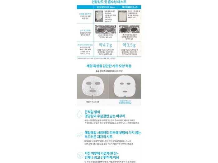 Mặt nạ giấy Atomy Hydrating & Lifting3