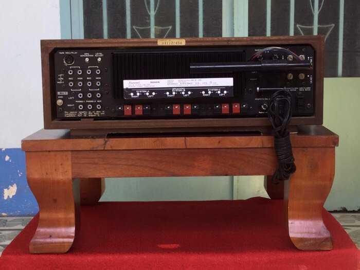 Tân Audio biên hoà Sansui 5000x Power dính đờI 320W ( Hàng đẹp zin nguyên bản )2