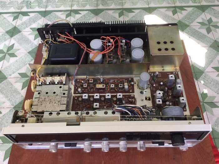 Tân Audio biên hoà Sansui 5000x Power dính đờI 320W ( Hàng đẹp zin nguyên bản )3