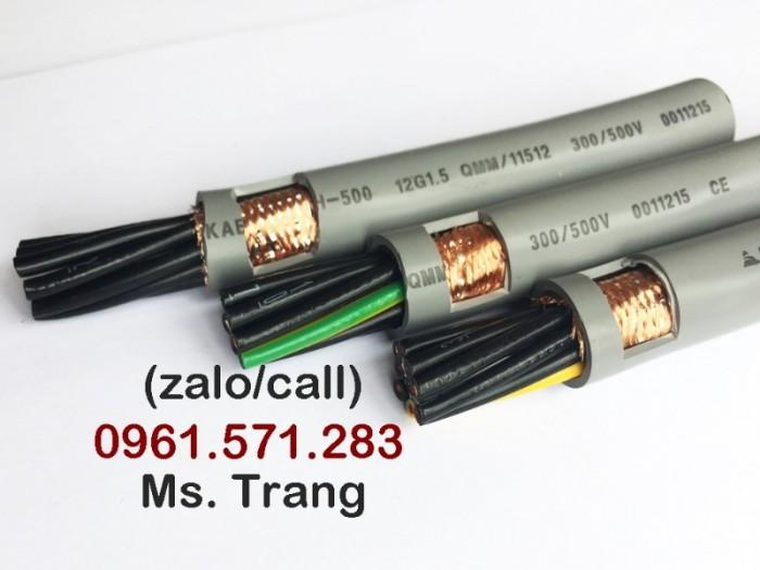 Dây cáp tín hiệu 25x0.5- loại có chống nhiễu