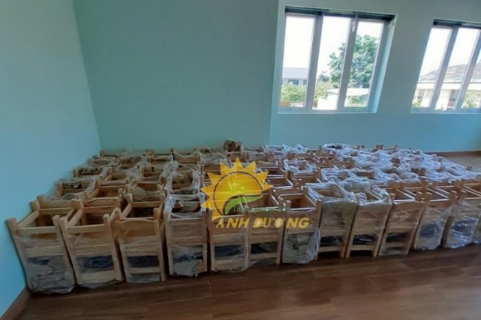 Bàn ghế gỗ trẻ em cho bậc mẫu giáo, mầm non giá rẻ, uy tín, chất lượng nhất11