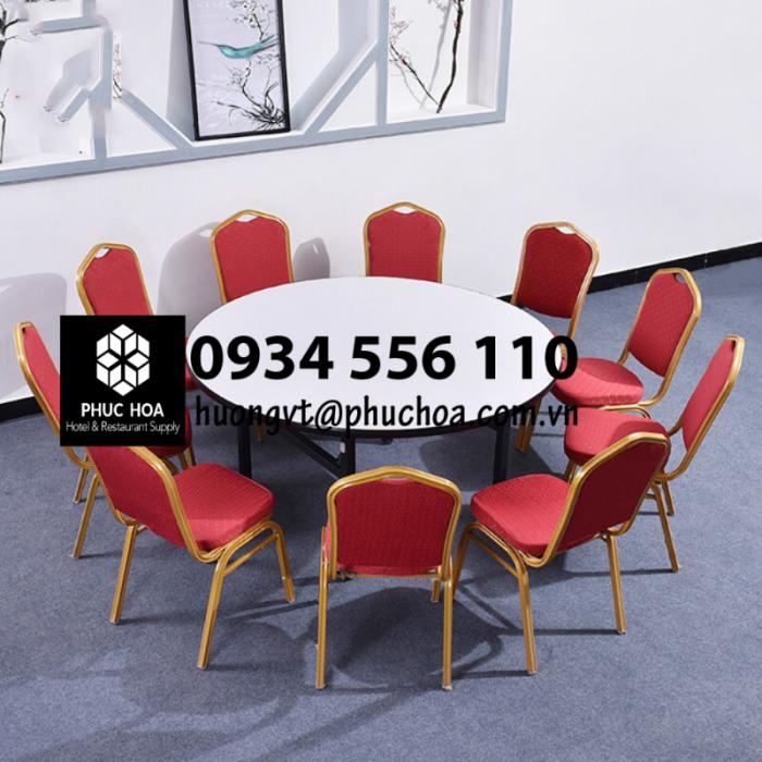 Bàn tròn banquet nhà hàng5