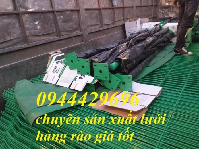 Lưới Thép Hàng Rào Mạ Kẽm Sơn Tính Điện D4 A 50X1506