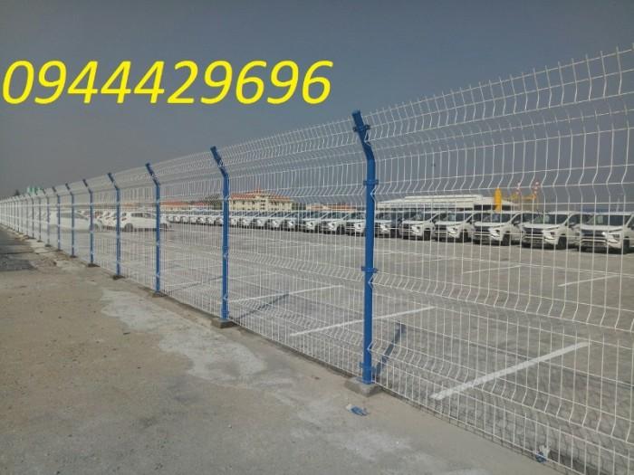 Lưới Thép Hàng Rào Mạ Kẽm Sơn Tính Điện D4 A 50X1507