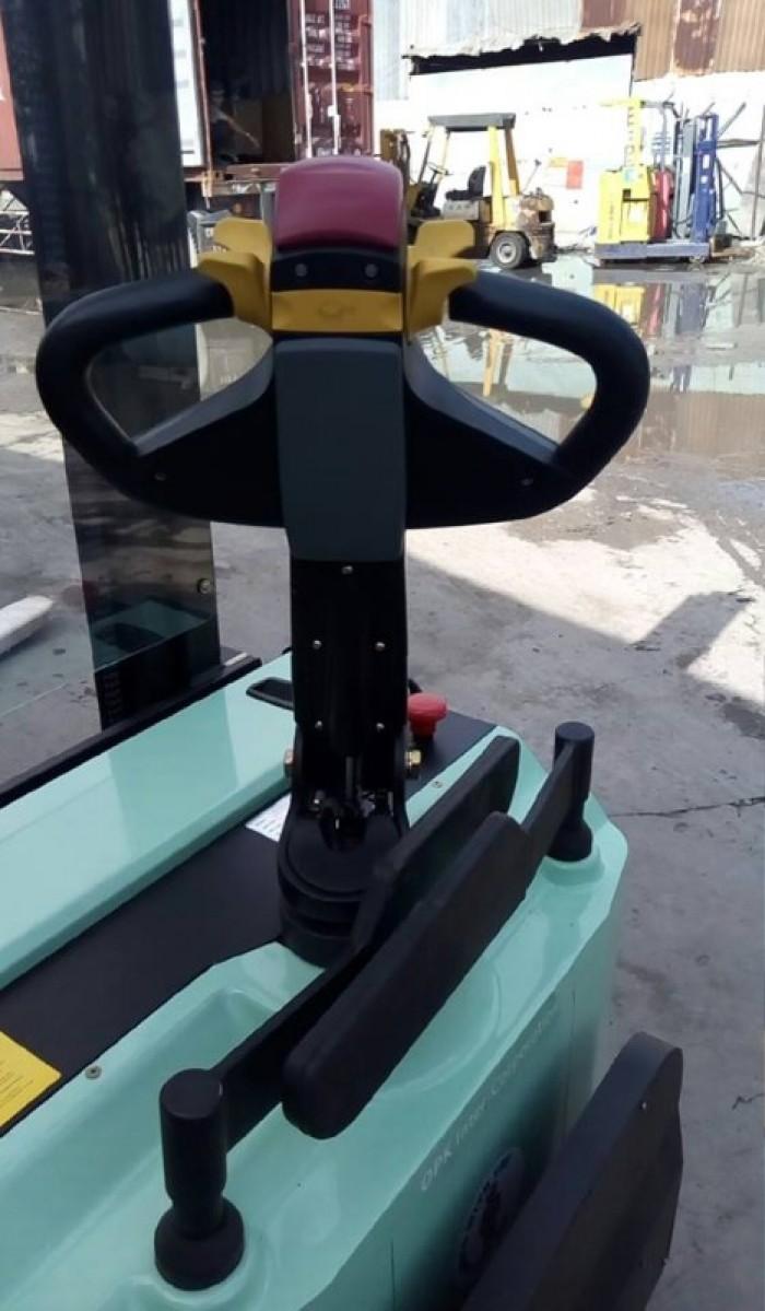 Xe nâng điện cao đứng lái 1,5 tấn OPK2