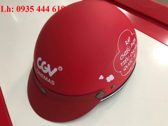 Mũ bảo hiểm quà tặng khách hàng giá rẻ tại Huế2