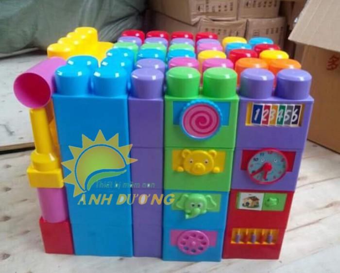 Đồ chơi lắp ghép nhiều chi tiết cho bé vui chơi, giải trí, thỏa sức sáng tạo5