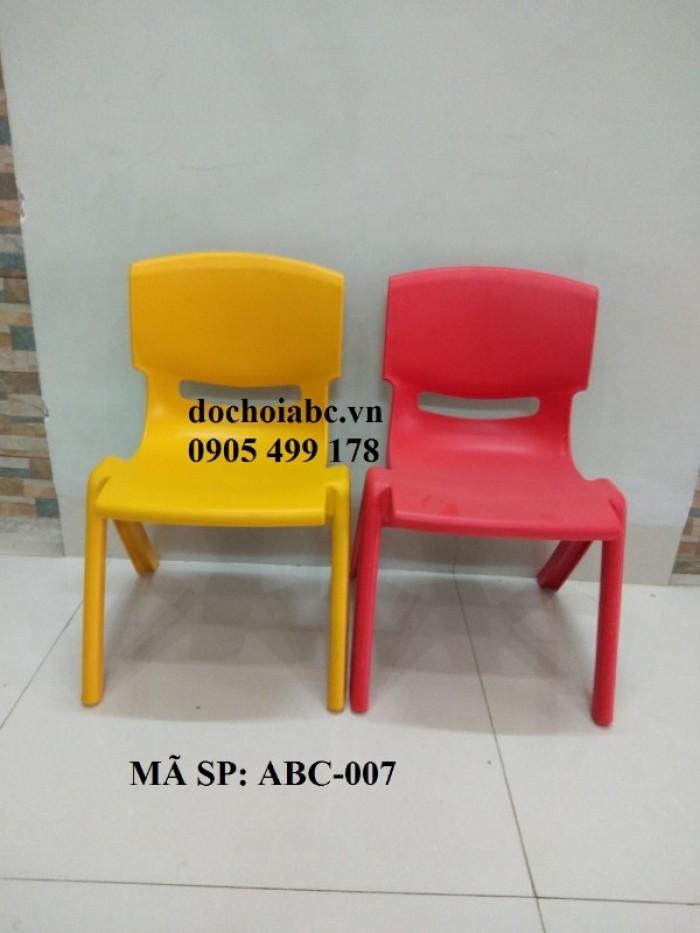 ghế nhựa mầm non giá rẻ - chất lượng cao tại quy nhơn8